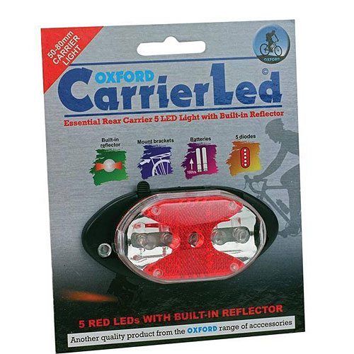 Oxford Rear Carrier Rack LED Light