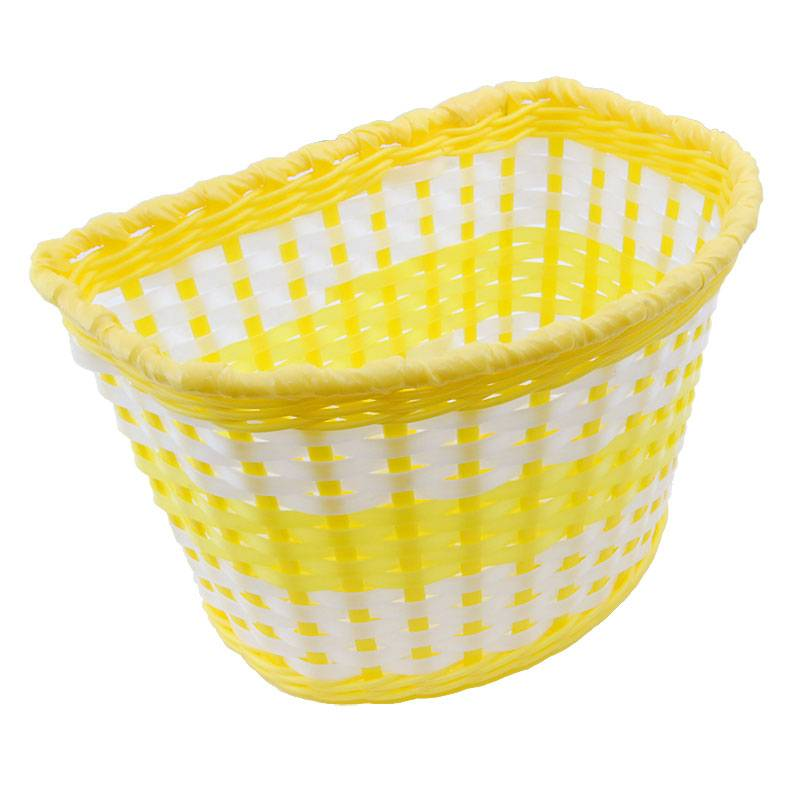Childrens Basket - Yellow
