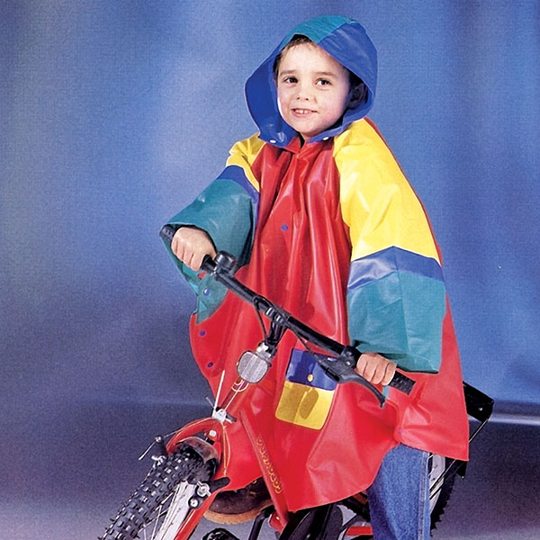 Cycling Rain Cape/Poncho for Children