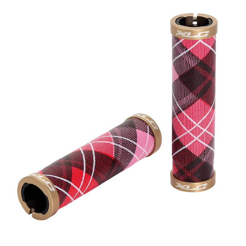 Fashion Cycle Handlebar Grips - Tartan