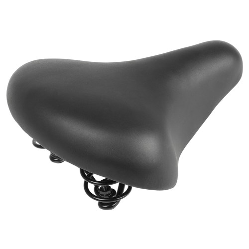 Unisex Sprung Bicycle Saddle