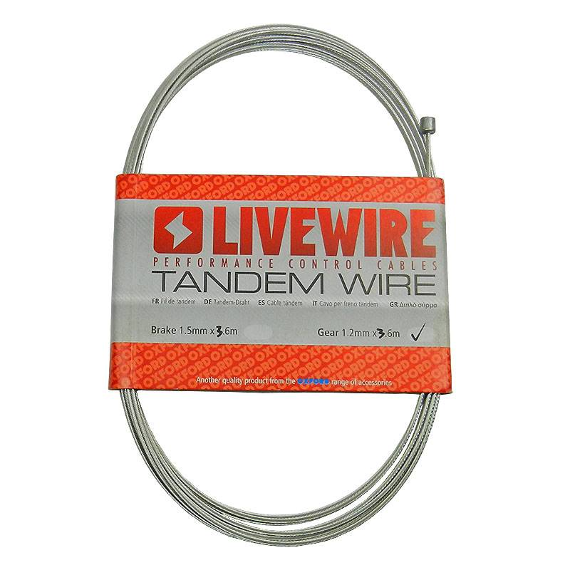 Tandem Stainless Steel Derailleur Gear Cable
