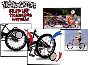Trail Gator Flip-Up Stabilisers