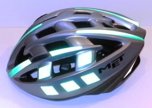 Bicycle Motorcycle Reflective Helmet Stickers